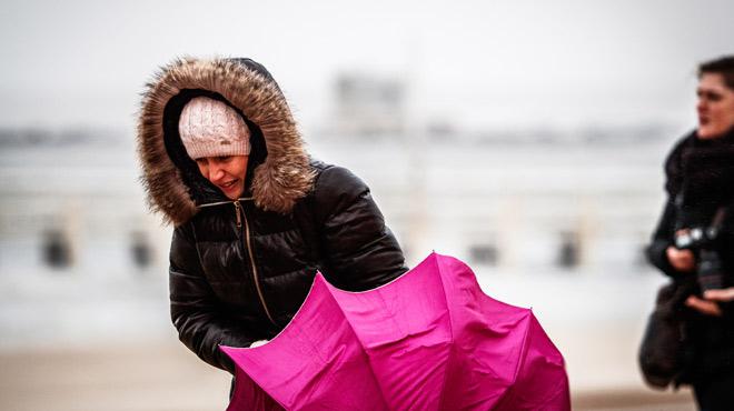 Vents puissants, température en baisse: voici les prévisions météo pour la semaine à venir
