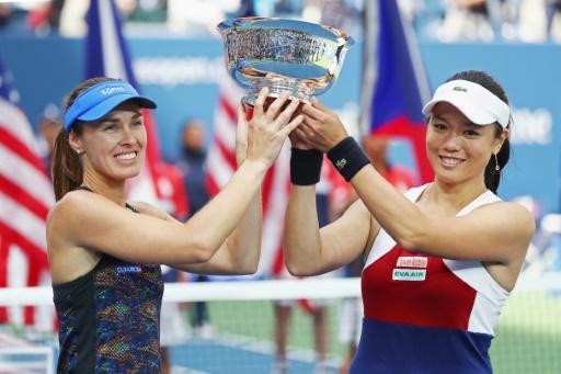 US Open: le double dames pour Hingis et Chan