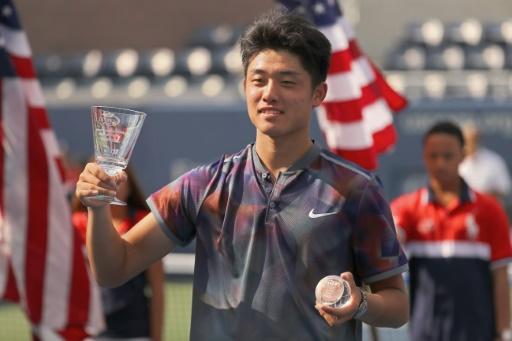 US Open: Wu, premier Chinois sacré en Grand Chelem après le tournoi Juniors