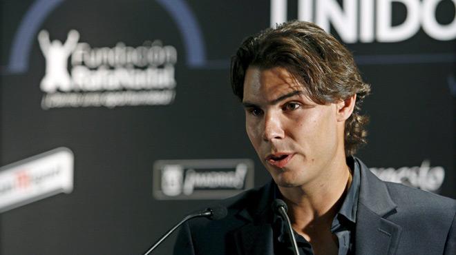 Rafael Nadal apporte son soutien aux victimes des catastrophes naturelles