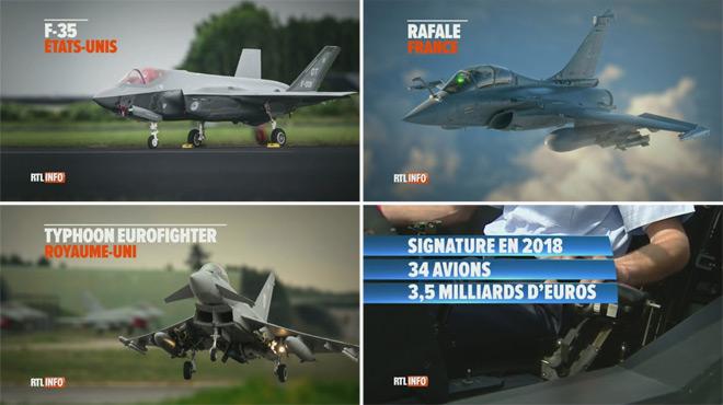 Quels avions de chasse pour remplacer nos F-16 Falcon vieillissants? Voici les trois derniers candidats en lice