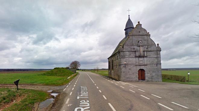 Une automobiliste tuée sur le coup en percutant la chapelle de L'Arbrisseau à Chimay