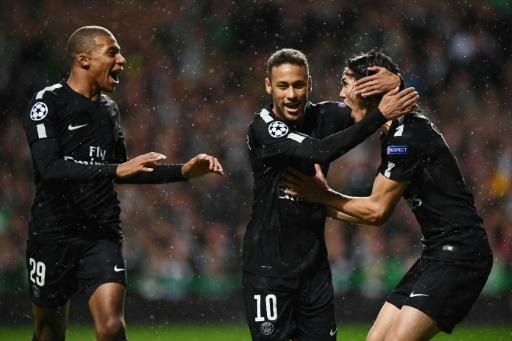 Premier but pour Neymar et Mbappé sous le maillot du PSG en Ligue des champions