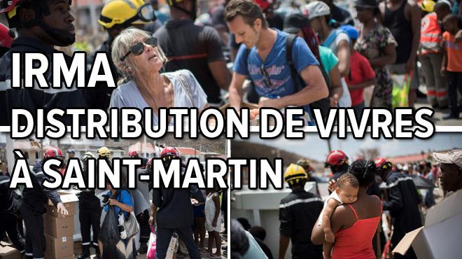 Une femme enceinte de Saint-Martin ne peut retenir ses larmes et se jette sur la bouteille: