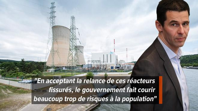 Nouvelle étude sur les fissures des cuves de Doel et Tihange: Ecolo contre la prolongation des centrales nucléaires