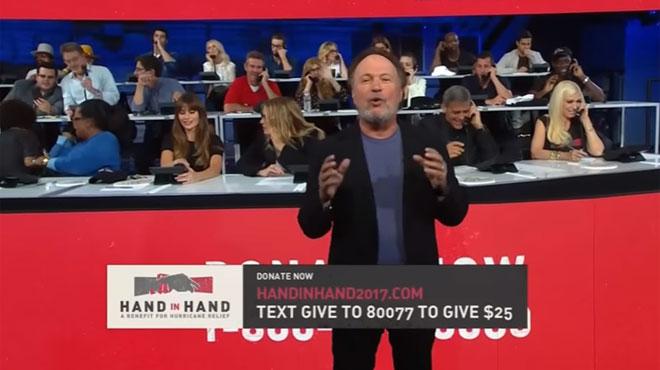 George Clooney, Julia Roberts, Justin Bieber, Leo DiCaprio, Beyoncé... se mobilisent lors d'un méga téléthon  pour les victimes des ouragans Irma et Harvey (vidéo)