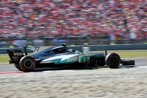 Formule 1: Mercedes confirme son pilote finlandais Valtteri Bottas pour 2018