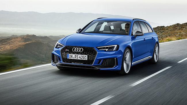 Nouvelle Audi RS4 Avant: le break de chasse compact