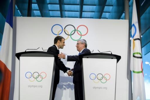 JO-2024: Macron et Bach à Marseille le 21 septembre