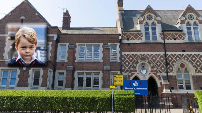 Scotland Yard sur les dents: une femme au comportement suspect a pénétré dans l'école du Prince George