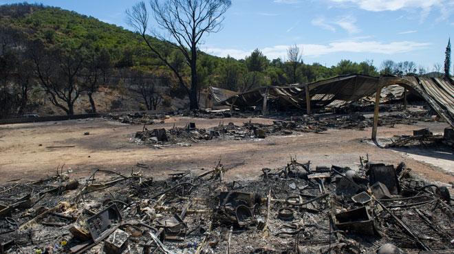 Un adolescent de 14 ans reconnaît être à l'origine de plusieurs incendies près de Marseille cet été