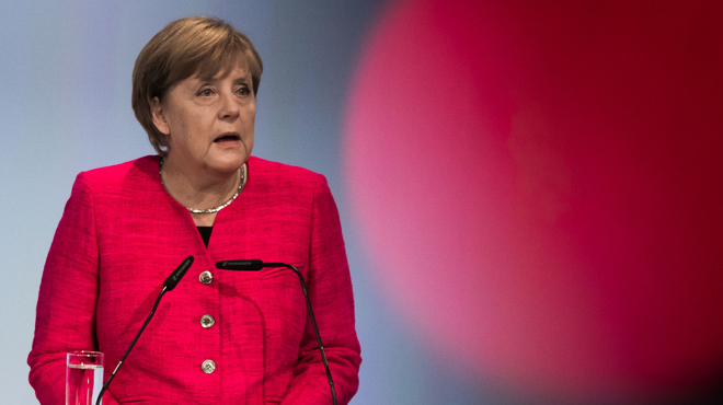 Angela Merkel comme vous ne l'avez jamais vue (vidéo)