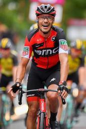 Quinziato arrête tout de suite, van Garderen dispute le chrono par équipes pour BMC