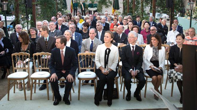 Malade, le prince Laurent était le grand absent du 20e anniversaire de sa fondation