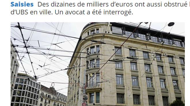 Un butin de 100.000 euros en billet bouche des toilettes — Genève
