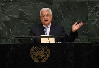 Abbas à l'ONU demande la fin de l'apartheid dont sont victimes les Palestiniens