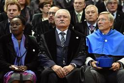 Le patron de CMI Bernard Serin docteur honoris causa de l'Université de Liège