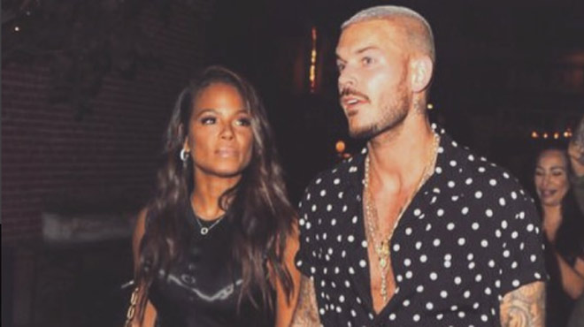 matt pokora va t il quitter la france pour christina milian le couple sur le point d emm nager. Black Bedroom Furniture Sets. Home Design Ideas