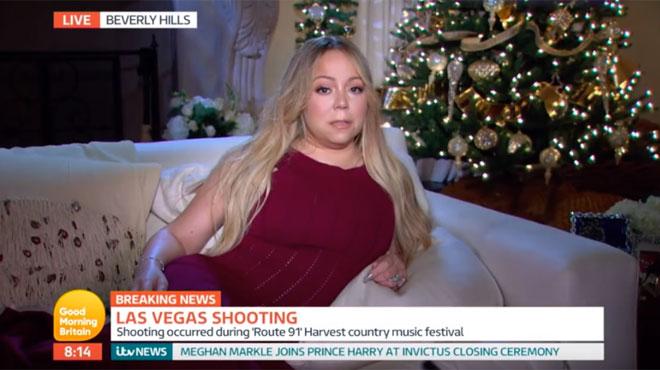 La bourde de Mariah Carrey après la fusillade de Las Vegas