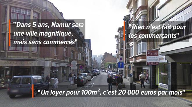 Les boutiques ferment les unes après les autres dans le centre de Namur: deux commerçants livrent 5 RAISONS