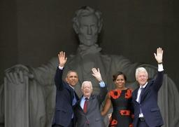 Les anciens présidents de