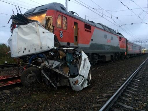 Au moins 16 morts dans une collision entre un train et un bus — Russie