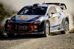 Rallye de Catalogne: problèmes hydrauliques, petite sortie de piste et pénalité font reculer Thierry Neuville