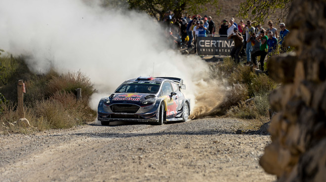 WRC: Kris Meeke s'impose en Catalogne, Ogier prend le large