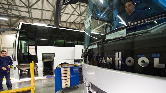 Le constructeur belge de bus Van Hool va construire un 1er bus électrique pour les Etats-Unis
