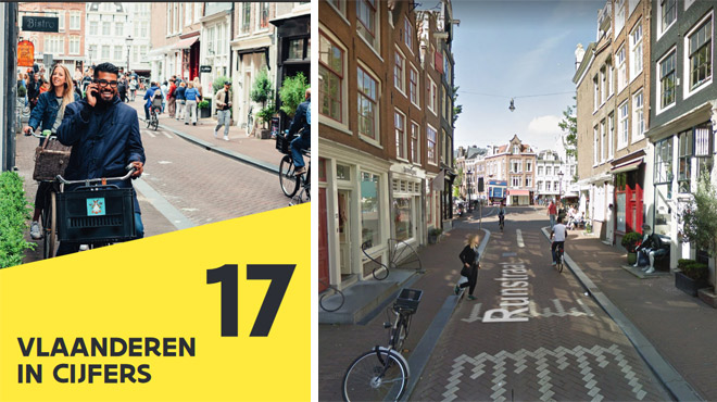 Une photo d'Amsterdam pour illustrer la