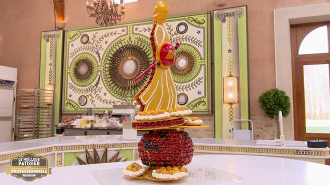 Cette majestueuse construction bluffe le jury du Meilleur pâtissier: