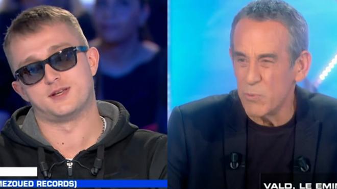 Fâché par les questions de Thierry Ardisson, le rappeur Vald exprime sa colère: