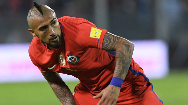 Arturo Vidal prend sa retraite internationale — Chili