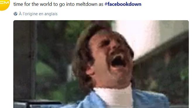 PANNE MONDIALE du géant Facebook: le réseau social a été inaccessible pendant deux heures environ