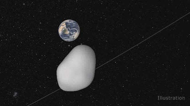 Le petit astéroïde 2012TC4 a frôlé la Terre