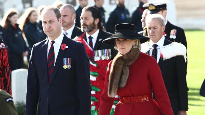 Le prince William et la princesse Astrid ont commémoré les 100 ans de la fin de la troisième bataille d'Ypres (photos)