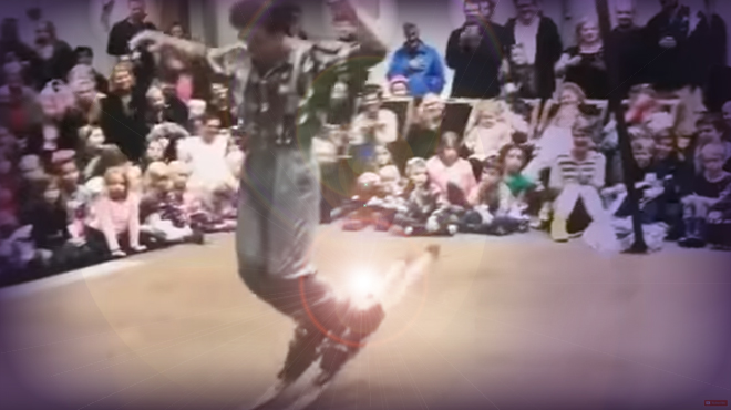 Danse avec des skis (DADS): sa prestation a bluffé tous les spectateurs (vidéo)
