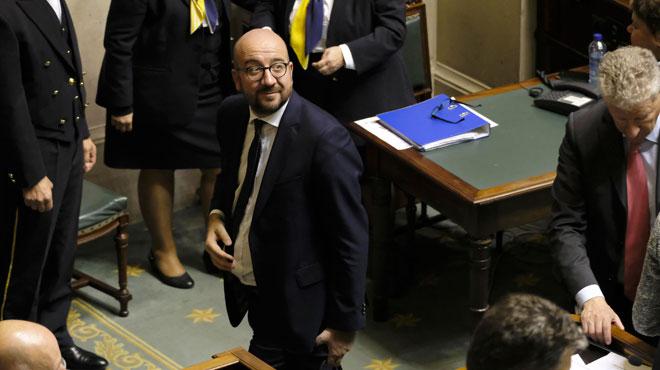 Discours de politique générale: la Chambre a donné sa confiance au gouvernement de Charles Michel