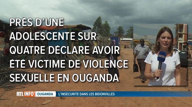RTL INFO s'est rendu dans les bidonvilles de Kampala, en Ouganda, où les femmes et jeunes filles vivent quotidiennement dans la peur