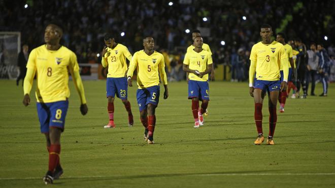 L'Equateur suspend 5 de ses joueurs à la suite d'une virée nocturne avant le match contre l'Argentine