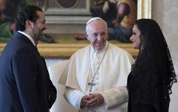 Le pape reçoit Saad Hariri et loue l'accueil de réfugiés par le Liban