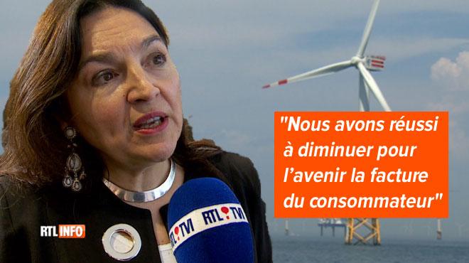 Trois nouveaux parcs éoliens verront le jour en mer du Nord: une bonne affaire pour les Belges selon la ministre