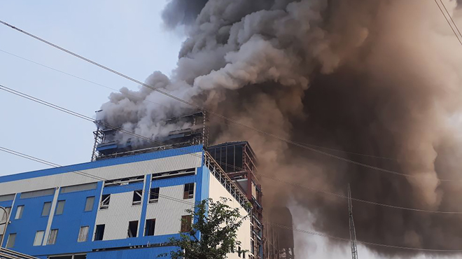 Explosion dans une centrale au charbon en Inde: 16 morts et de nombreux blessés