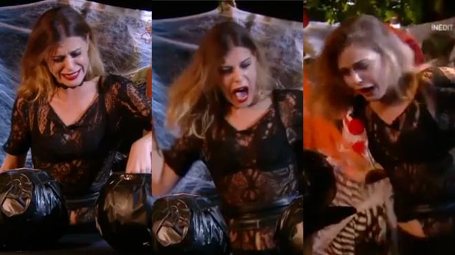 Secret Story 11: Barbara, la Belge, totalement EFFRAYÉE par la soirée Halloween, les autres candidats explosent de rire (vidéo)