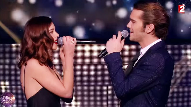 Quand Barbara, la Belge de Secret Story, chantait en duo avec le ténor Amaury Vassili sur France 2 (vidéo)