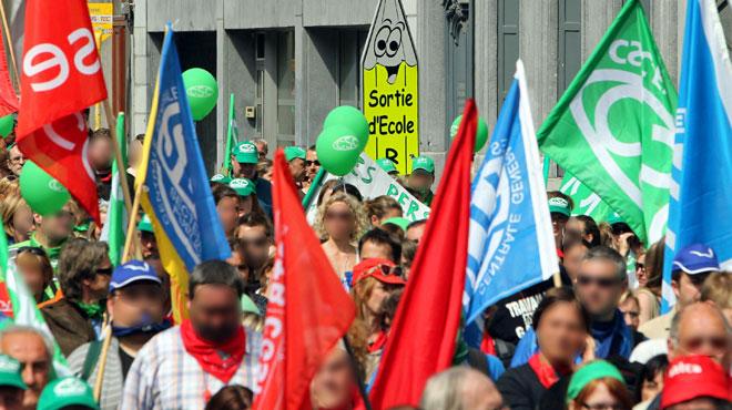 Les syndicats européens à Bruxelles le 8 novembre