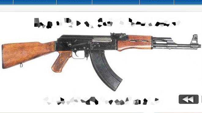 La police peut désormais disposer d'armes de guerre pour faire face aux terroristes