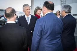 Le couple royal et la délégation belge sont arrivés à New Delhi dimanche