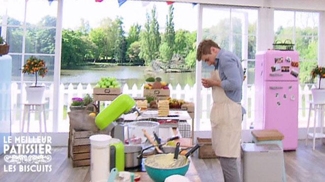 Le meilleur pâtissier: Matthieu se blesse et doit sortir de la tente