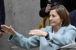 Crise en Catalogne - La présidente indépendantiste du parlement devant la justice